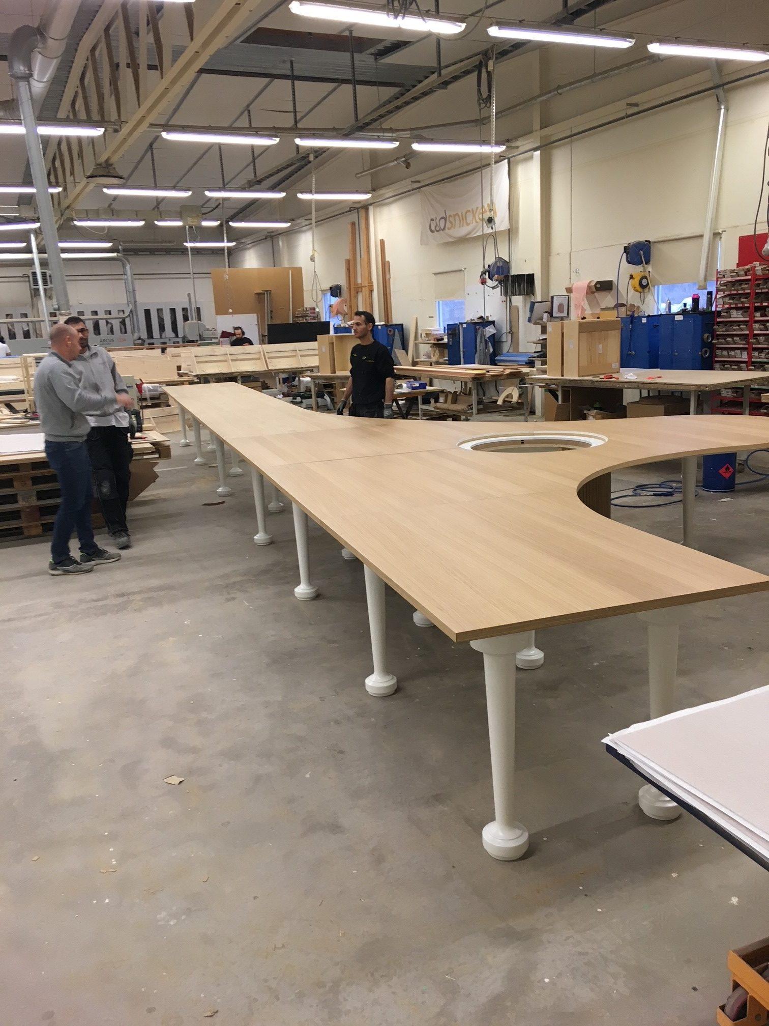 Ekfanerat bord